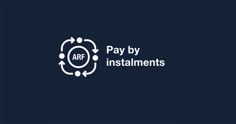 ARF pay by instalments deadline approaches